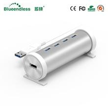 5GBPS High Speed 4 Ports USB 3.0 HUB With On/Off Switch USB Hub For Desktop Laptop EU Free Shipping #H4U3 стоимость