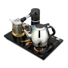Автоматический насосный чайник 304 из нержавеющей стали термоэлектрический