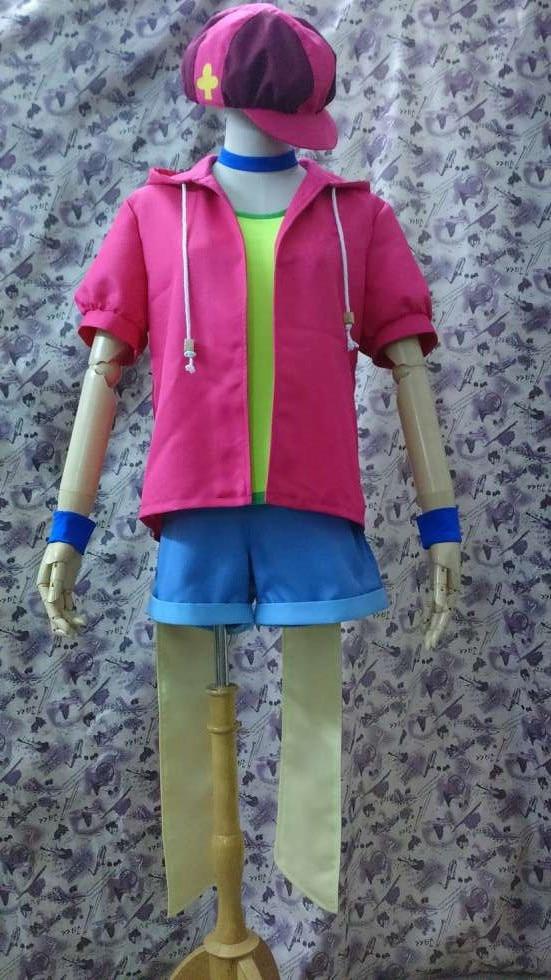 No Game No Life Nogemu Noraifu Tet Teto Cosplay Costume Coat+Underwear+Pants+Hat