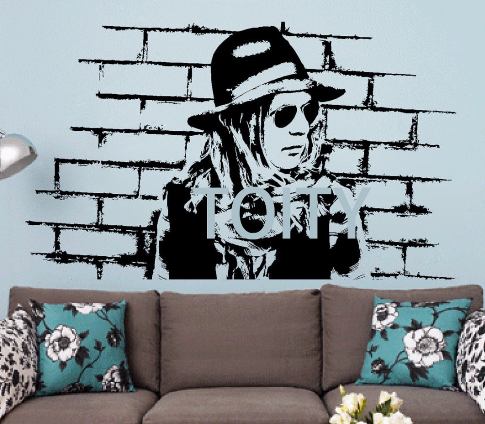 Beck Wall Stickers Musician Vinyl Decals Alternative Rock