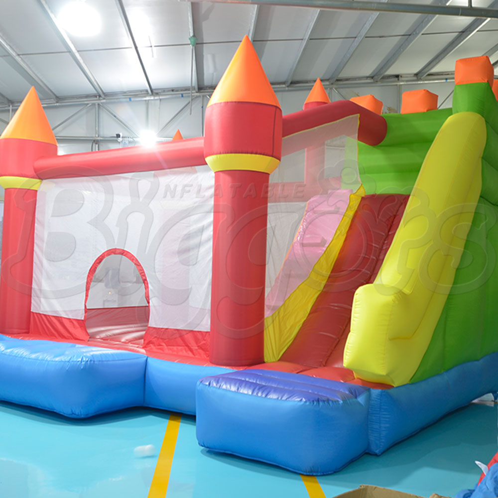 YARD Inflatable Slide Moonwalk Bounce House Inflatable Bouncers for Christmas Kids Gift Party Game Bouncy Castale inflatable water slide bouncer inflatable moonwalk inflatable slide water slide moonwalk moon bounce inflatable water park