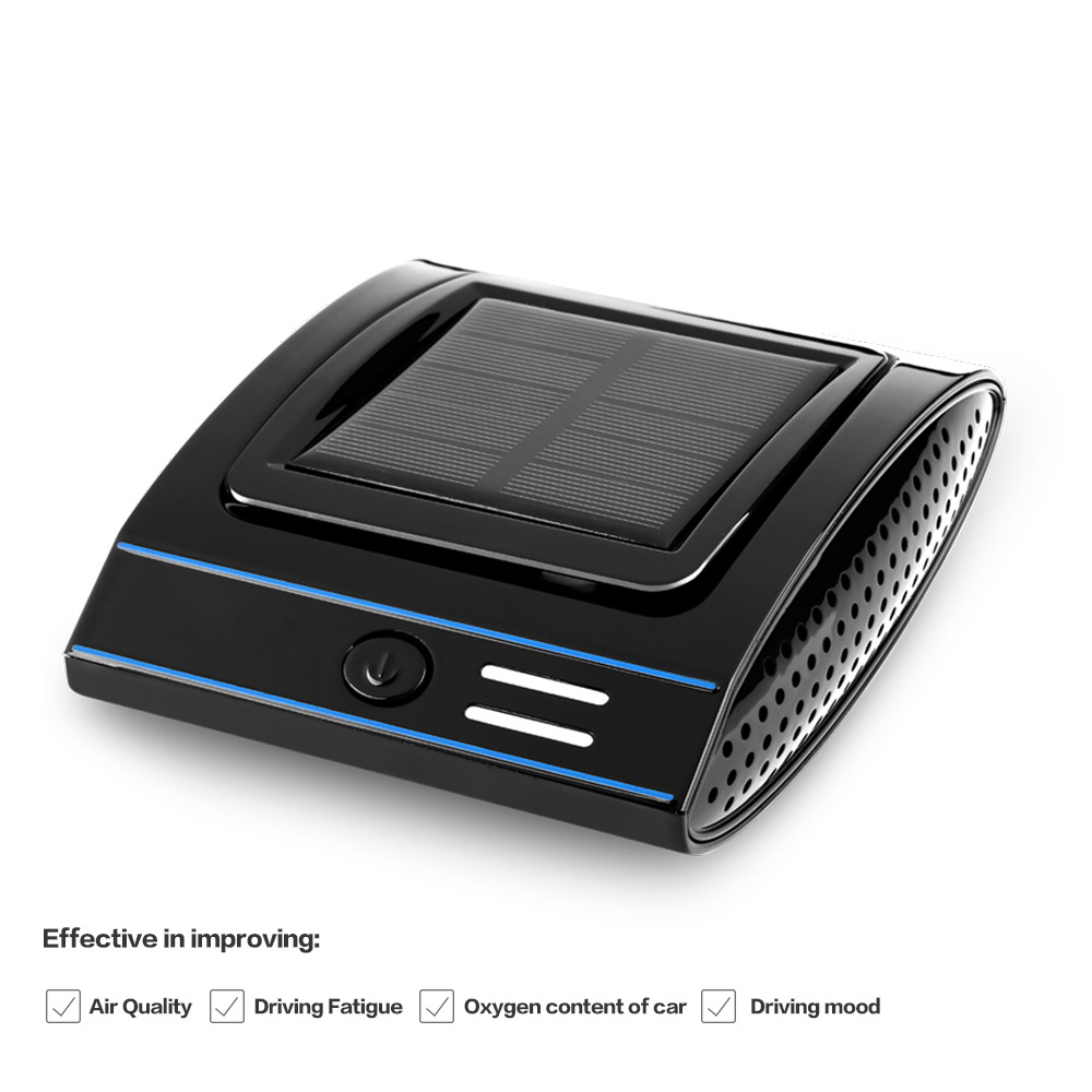Solar energy home car dual-use air purifier aromatherapy machine car purifier sterilization formaldehyde odor removal purifier solar energy modelling and assessing photovoltaic energy