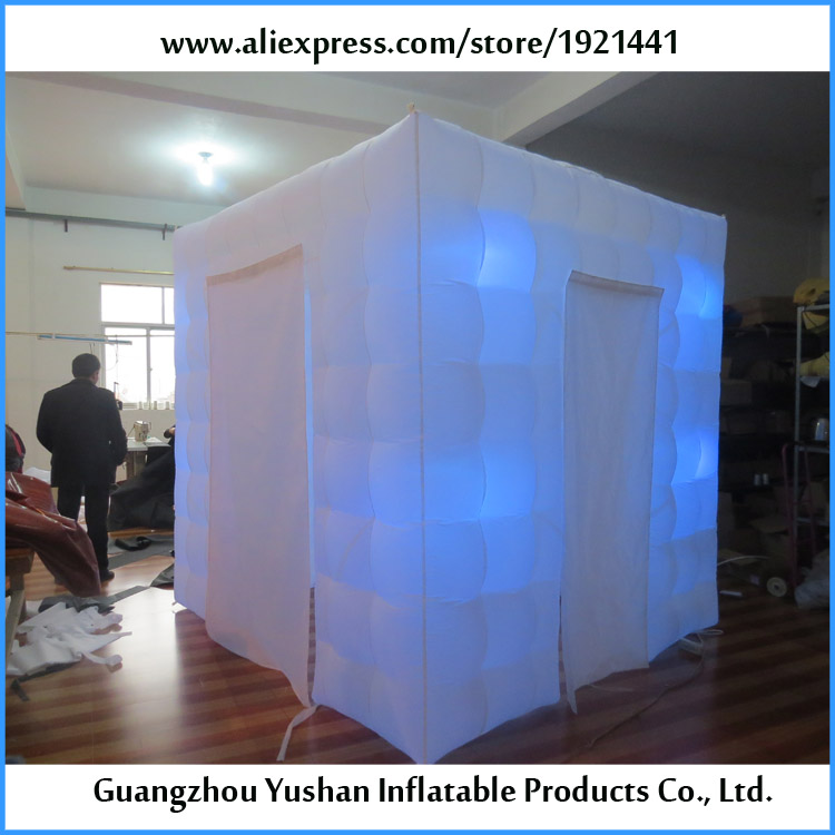 2.5m enclosure wedding party event decoration inflatable photobooth ...