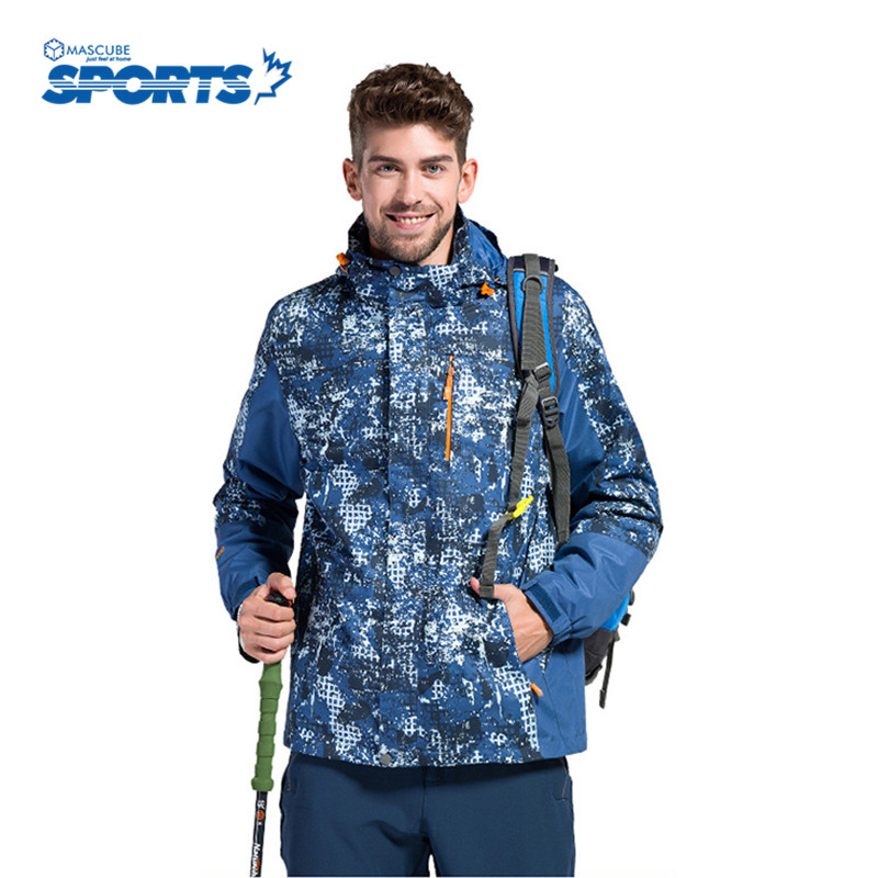 ФОТО Camouflage Jacket Outdoors Men Waterproof Outwear High Quality Keep Warm Hunting Hiking Camping Ski Clothes Veste Homme