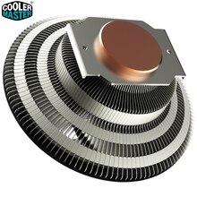 Ventilador enfriador para Intel 775, 115X2011X2066 AMD AM4 AM3 Cooler Master G100M para PC, radiador 10 cm, 4 pin RGB, silencioso