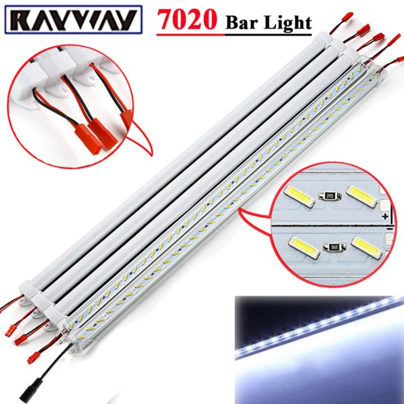 Pcs Smd Led Bar Light 12 Volt Led Strip Lights Simple: RAYWAY LED Light Bar DC12V SMD 7020 LED Hard Rigid Led