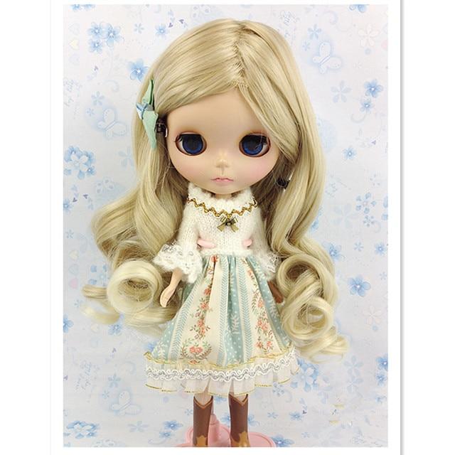 BJD Куклы Парики Волос для Куклы, Новый Стиль высокотемпературный Провод Вьющиеся Волосы, Парик BJD Куклы Аксессуары