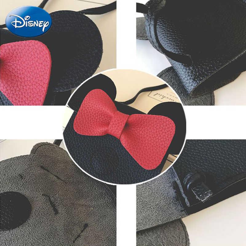 ديزني ميكي ماوس الكرتون الإناث بو البسيطة حقيبة يد الترفيه أزياء حقيبة الكتف للمتسوقين سيدة يد أفخم ظهره