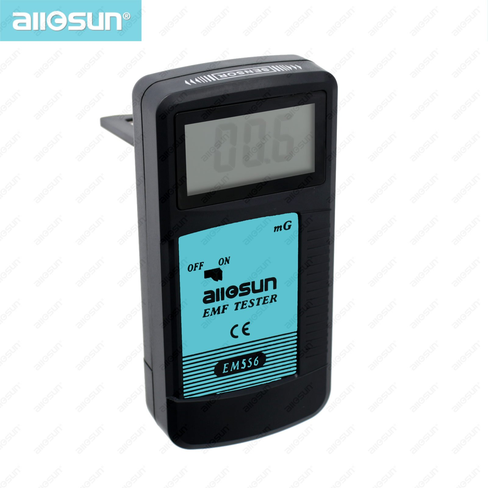 All-sun EM556 High Sensitivity EMF Tester 0.1-199.9mG 30HZ-400HZ Test the Magnitude of Electromagnetic Field Radiation
