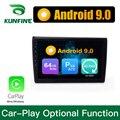 Автомобильный мультимедийный плеер, Android 9,0, ОЗУ 4 Гб, ПЗУ 64 ГБ, PX6 Cortex A72, DVD, GPS, стерео, для Hyundai MISTRA 2017 2018, головное устройство