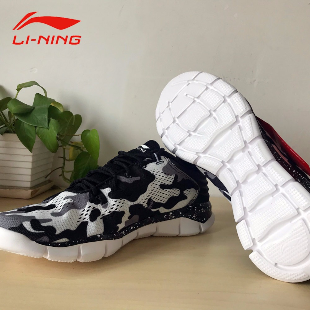 Li-Ning Mens Quick XT Running Shoes Light Breathable Sneakers LINING Summer Sports Running Shoes ARKM019
