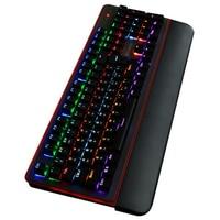Green axis mechanical gaming keyboard 12 color RGB LED backlight waterproof keyboard Russian English mechanical keyboard