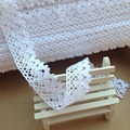 2.5cm 20m/lot White Beige Cotton Lace Hometexile Cloth Wrap Knitting Embellishments DIY Patchwork Crafts Lace Trims scrapbooking