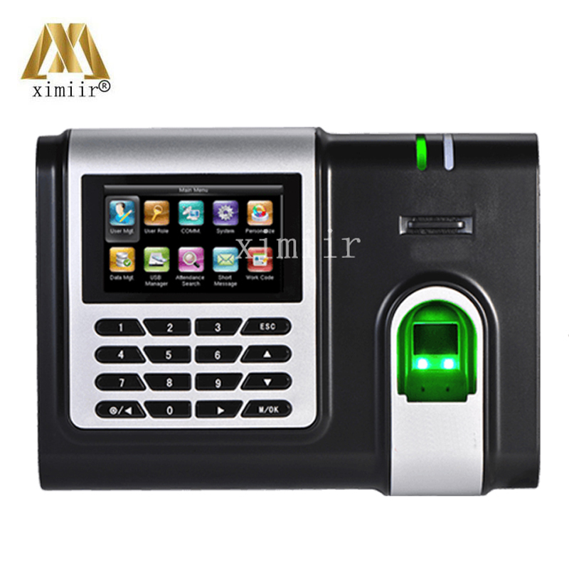 Biometric X628-C Fingerprint Time Attendence Finger Print Recognition Time Clock TCP/IP Time Recording