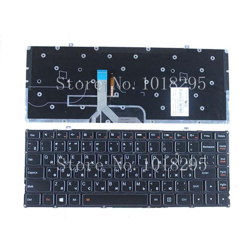 New RU Laptop Keyboard for Lenovo Ideapad Yoga 2 Pro 13 backlit Yoga2 Pro13-ISE Russian 25212829 PK130S92A05 new russian keyboard for lenovo thinkpad yoga 4 pro yoga 900 backlit ru laptop keyboard