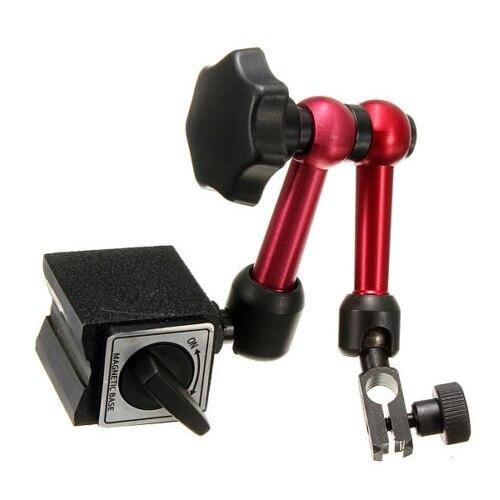Mini calibre Universal Ajustável stand holder Suporte Base magnética Nível Digital Disque Teste Indicador & Dial Teste Indicador de Ferramenta