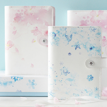 Ring PU Leather A5 / A6 Planner Binder, Sakura Ms. Notebook planner