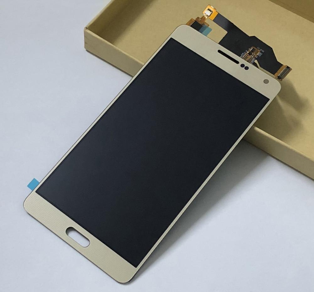 Or pour Samsung Galaxy A7 2015 A700 SM-A700F A700H A700K A700S A700L ecran LCD complet + capteur tactile numériseur
