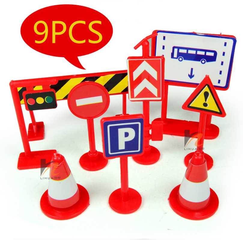 Back To Search Resultstoys & Hobbies Groceries Traffic Light Signs Garden Art Pvc Action Figure Toys Diy Micro Garden Landscape Decoration Props Christmas Gifts