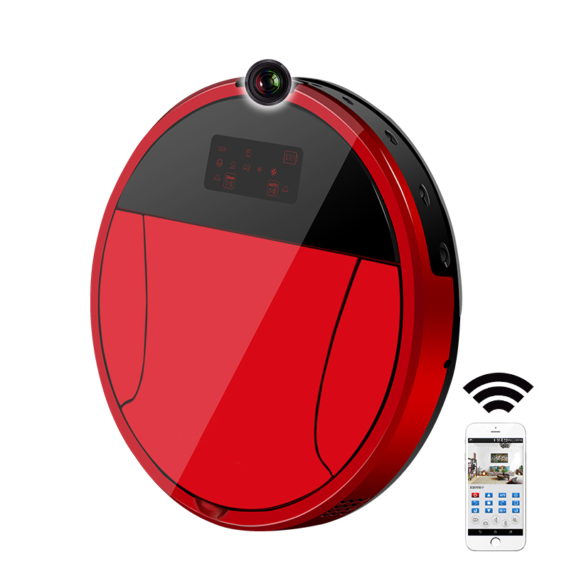 2018 PAKWANG 360 Robot Vacuum Cleaner Smart Camera,Two Cleaning Route,WIFI APP Control,Detection System,1200Pa Suction Power все цены
