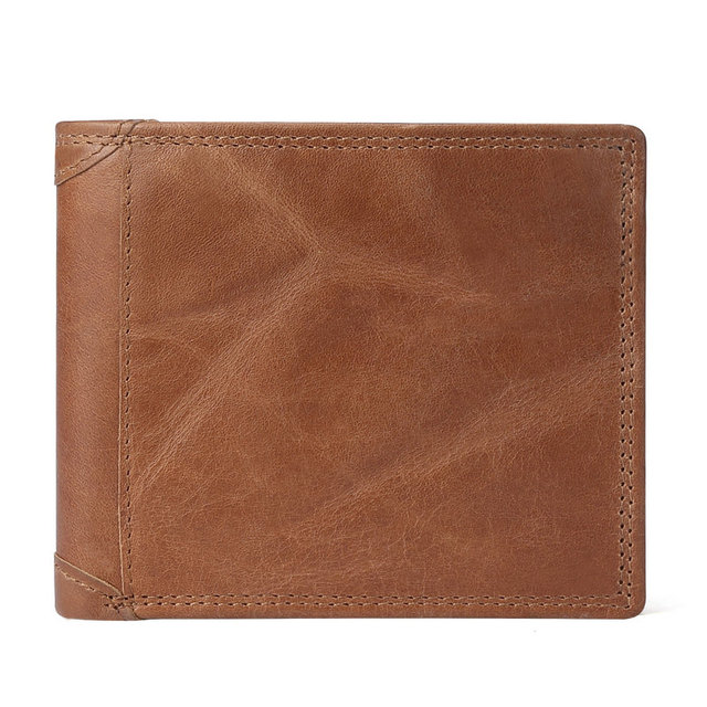 Men's Vintage Leather Wallets with Card Holders