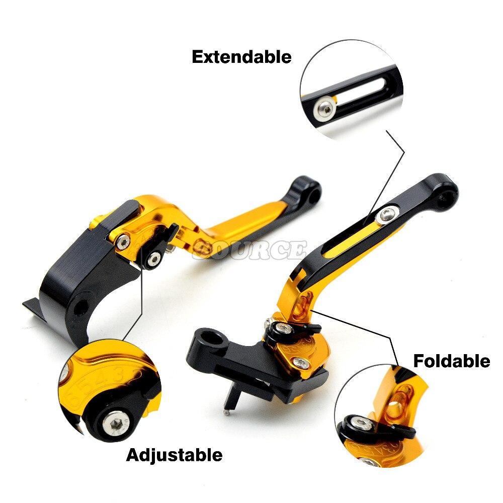 adjustable motorcycle brake clutch levers for yamaha FZ6 FAZER 2004-2010 FZ6R 2009-2015 FZ8 2011-2015 MT-07/FZ-07 2014-2016 cnc billet adjustable long folding brake clutch levers for yamaha fz6 fazer 04 10 fz8 2011 14 2012 2013 mt 07 mt 09 sr fz9 2014