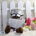 28 см Газета Зомби растения против зомби игрушки Фаршированные Мягкие Плюшевые Животные Куклы бесплатная доставка