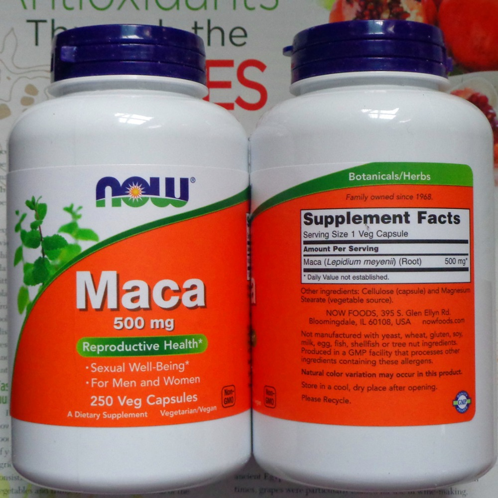 Now Maca 500 mg 250 pcs Free shipping oystercal d 500 mg compare and save 250 caplets free shipping