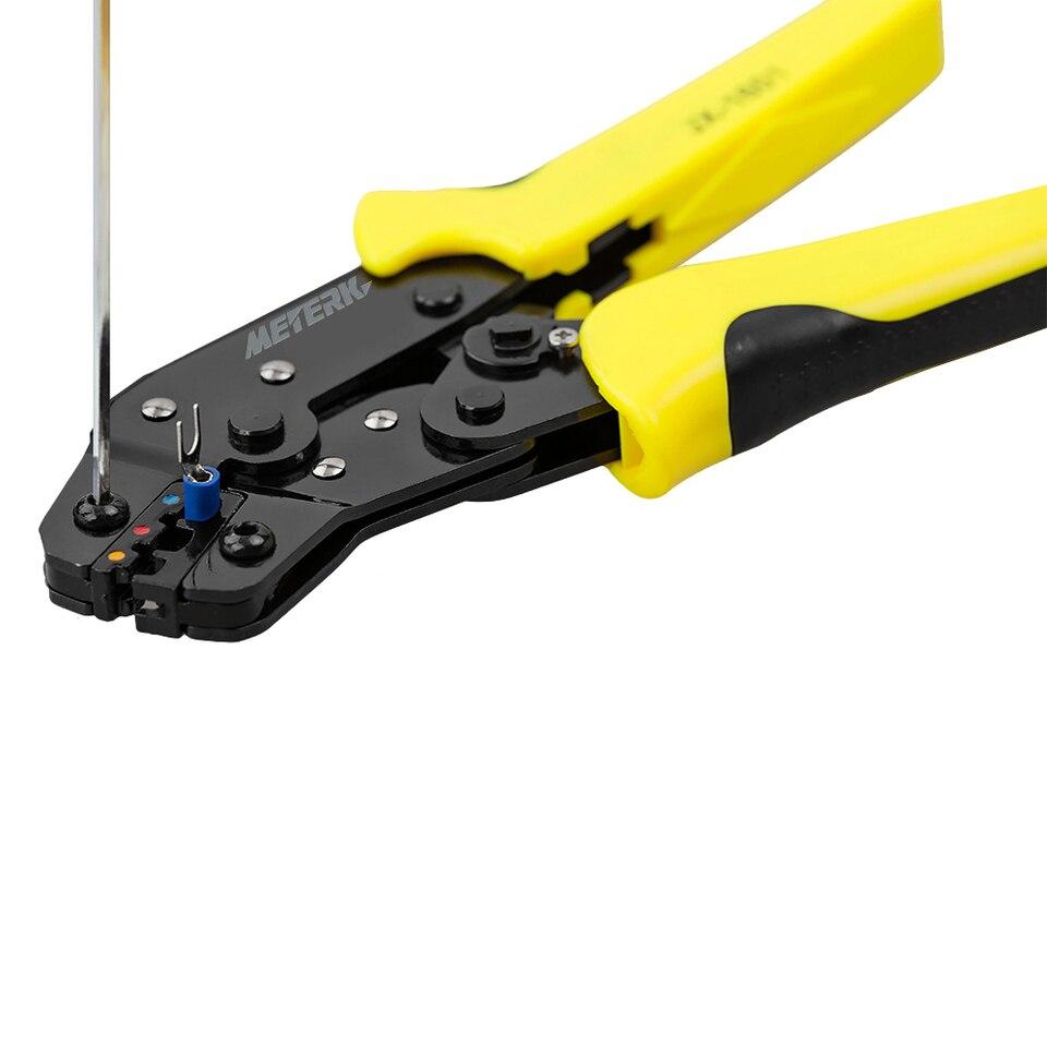 Con alicates de engarzado Vokmon 1200pcs Kit de herramientas de engarzado de cables Terminales de alambre Conectores de engarzado F/érulas de extremo de cable