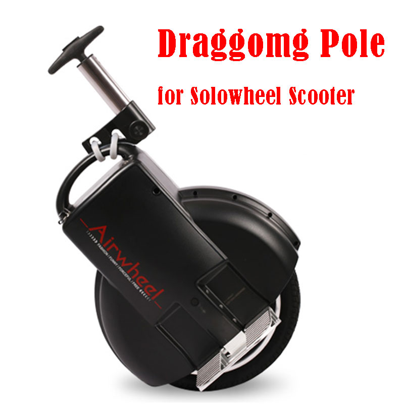 free shipping  dragging pole for Airwheel and other brand solo wheel electric scooters promax driven wheel block for gy6 150cc scooters atvs go karts moped quads 4 wheeler dune buggys