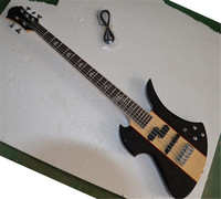 Factory custom high quality 5 string bass split sandwich wood color