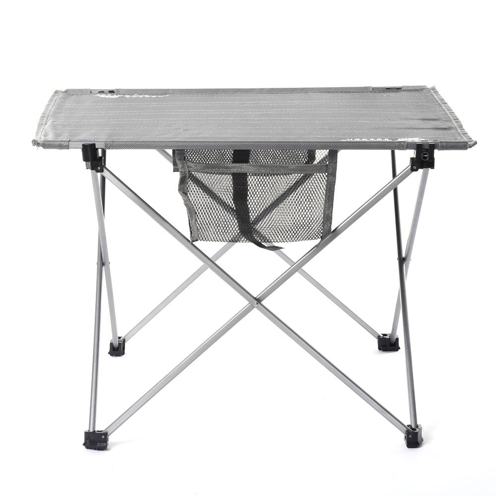 convenient folding table camping table set outdoor oxford fabric ultralight table stools chairs for camping hiking - Folding Table And Chairs