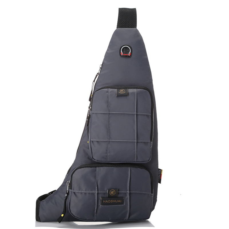 più amato 672c6 7b95b US $16.54 11% di SCONTO|Multi tasca borsa a tracolla viaggio casuale cassa  del sacchetto per uomo moto borse crossbody per gli uomini piccola borsa ...