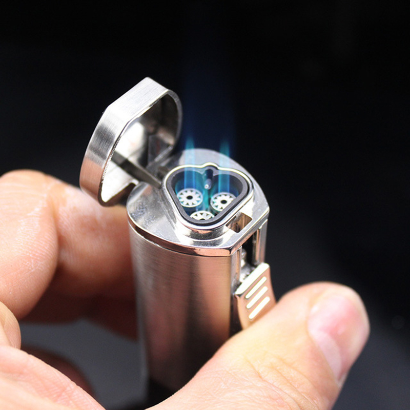 Torch Turbo Lighter Blue Flame Electronic LighterS Gas Lighter Butane Spray Gun 1300C Advanced Cigar Cigarettes Lighter