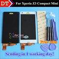 Alta Calidad Nueva Pantalla LCD + asamblea de Pantalla Táctil Digitalizador Para sony xperia z3 compact z3 mini teléfono móvil de 4.6 pulgadas negro blanco