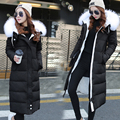 Warm Winter Jacket Women Hooded Down Coat Female Clothes Parkas With Fur Collar thickening Parka Hood Over Coat manteau femme