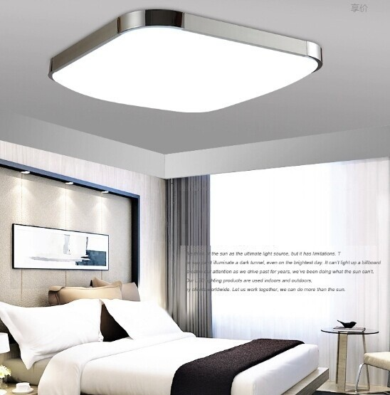98%OFF 2016Modern LED Apple Ceiling Light Square 24W 30CM Led Ceiling Lamp Kitchen Light Bedroom