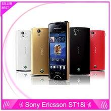 St18 оригинальный Sony Ericsson Xperia Ray St18i сотовый телефон Android GPS WI-FI 8MP 3.3 »сенсорный экран Бесплатная доставка