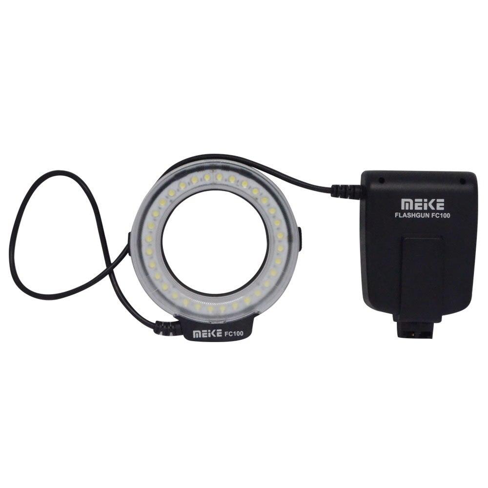 Meike MK-FC100 5500K LED makro obroček bliskavica za Sony A100 A200 - Kamera in foto - Fotografija 3