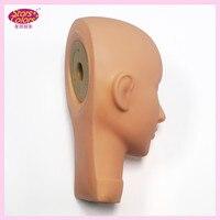 Professional Training Mannequin Head For Eyelash Extension Flat Head Practice Makeup Head Model Set False Eyelash