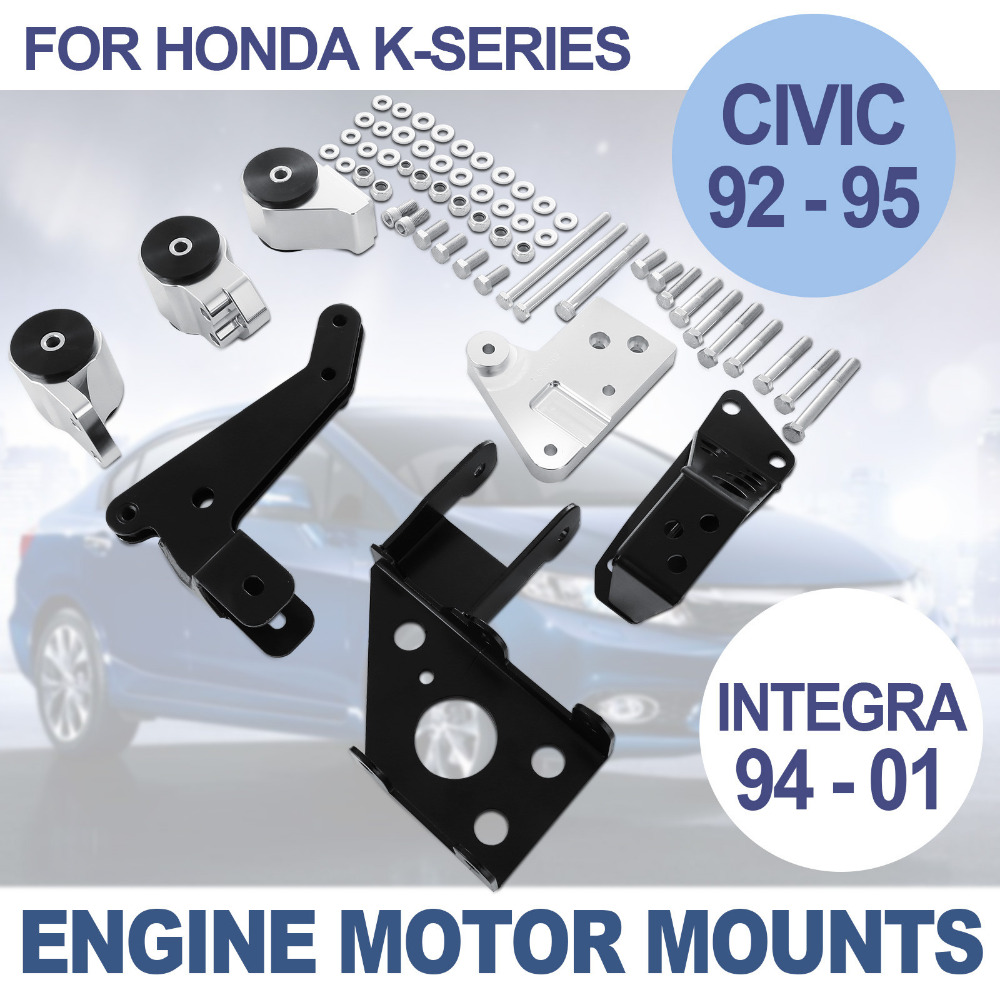 K Series Swap Billet Aluminum Engine Mount Kit For 92 95 Honda Civic 1992 Spindle Eg 94 01 Dc In Woodworking Machinery Parts From Tools On Alibaba Group