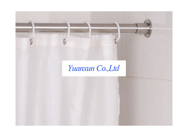304 custom shower curtain rod stainless steel tube 25 fixed side ...