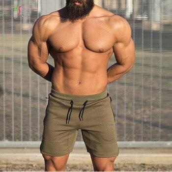 Bodybuilding Sweatpants Fitness Shorts