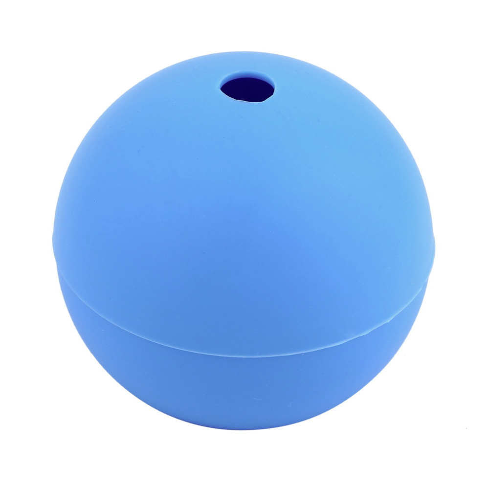 2.5 Inch Home Use Silicone Ice Ball Maker Mold Sphere Large Tray Whiskey DIY Mould Kitchen Tools