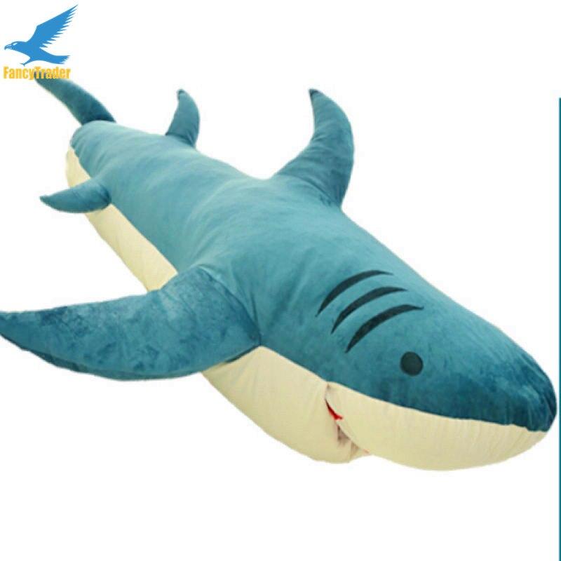 Fancytrader Huge Giant Shark Sleeping Bag Beanbag Sofa Bed Carpet ...