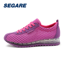 Women Running Shoes Breathable Women Sports Shoes lace up Running Sneakers Air Athletic Trainers