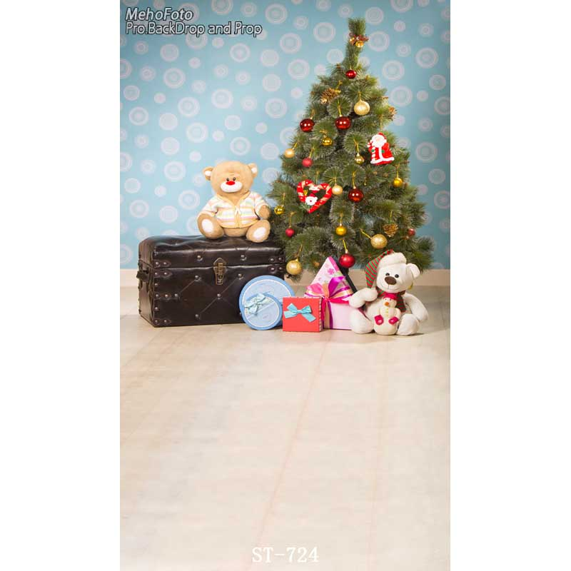 Thin vinyl photography Computer Printed Children Photography Backdrops Christmas theme background for photo studio ST-724 thin vinyl photography cloth computer printed children photography backdrops christmas theme background for photo studio st 756