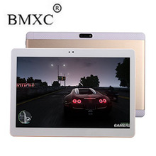 BMXC 3G 4G Lte Octa core Tablet 1920*1200 IPS 5.0MP RAM 4 GB ROM 32 GB Android 6.0 Bluetooth GPS de la Tableta de 10 de Doble SIM Tablet