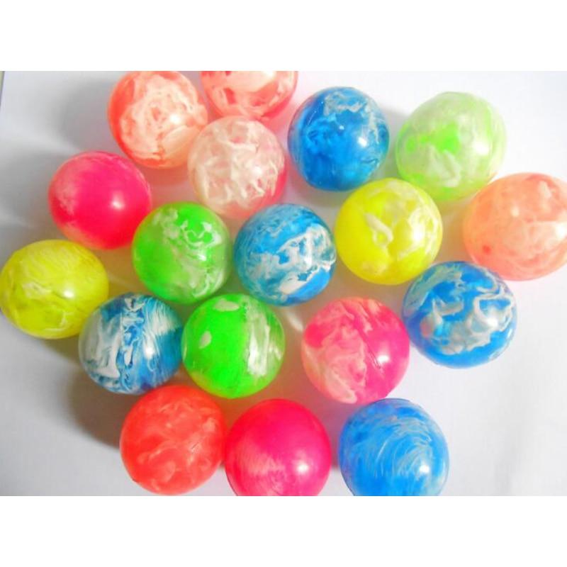 10pcs Lot 42mm High Quality Rubber Bouncing Ball Toy Big