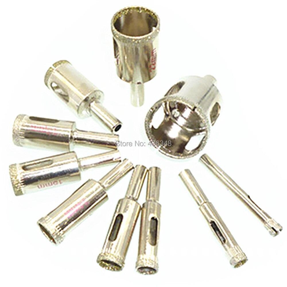 Diamant Werkzeug Bohrer Keramische Fliesen Glas Lochsäge 4mm 2 Stück